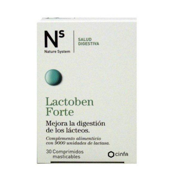 Lactoben 30 Comprimidos Masticables Nature System