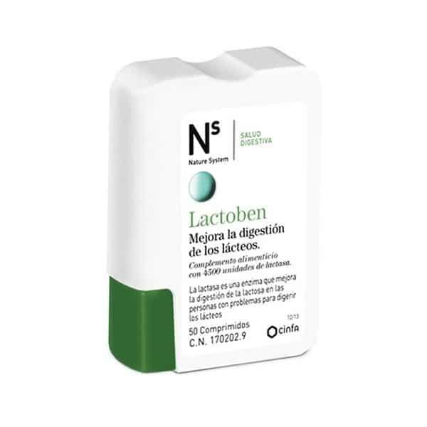 Lactoben 50 Comprimidos Nature System