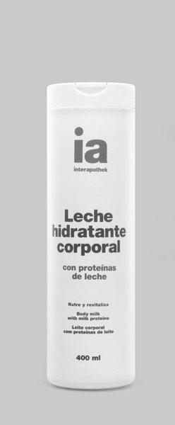 Leche Corporal Hidratante 400 ml Proteínas de Leche Interapothek