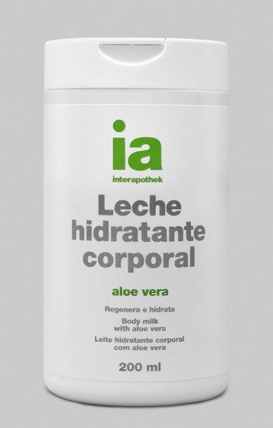 Leche Corporal Hidratante 200 ml con Aloe Vera Interapothek