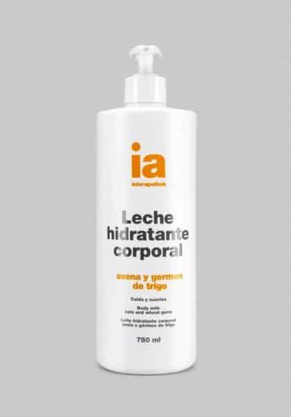 Leche Corporal Hidratante 750 ml Avena y Germen de Trigo Interapothek con Dosificador