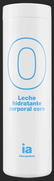 Leche Corporal Hidratante Cero 400 ml Interapothek