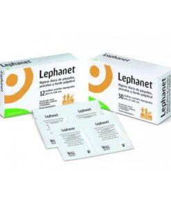 Lephanet Toallitas Esteriles 12 Toallitas - Para la higiene diaria de parpados y pestañas