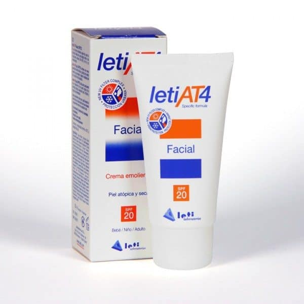 Leti At 4 Crema Facial SPF 20 50 ml