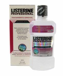 Listerine Profesional Tratamiento Gingivial 500ml - Trata y previene la aparición de Gingivitis