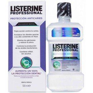 Listerine Profesional Anticaries 500ml - Previene la aparición de caries