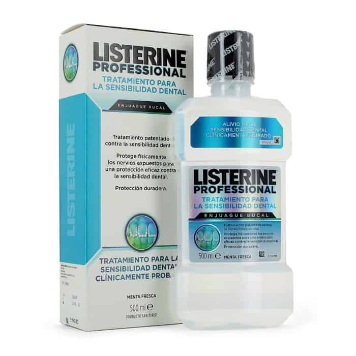Listerine Professional Sensibilidad Dental 500 ml