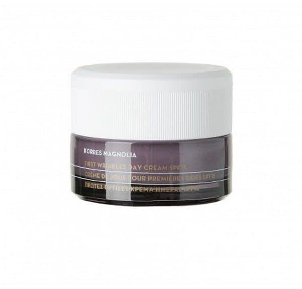 Comprar Korres Crema de Día SPF 15 Magnolia 40 ml - Primeras Arrugas Crema Hidratante con Protección Antioxidante para Todo Tipo de Pieles