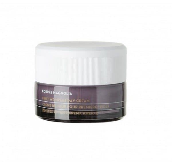 Comprar Korres Crema de Día Magnolia 40 ml - Primeras Arrugas Crema Hidratante con Protección Antioxidante para Todo Tipo de Pieles
