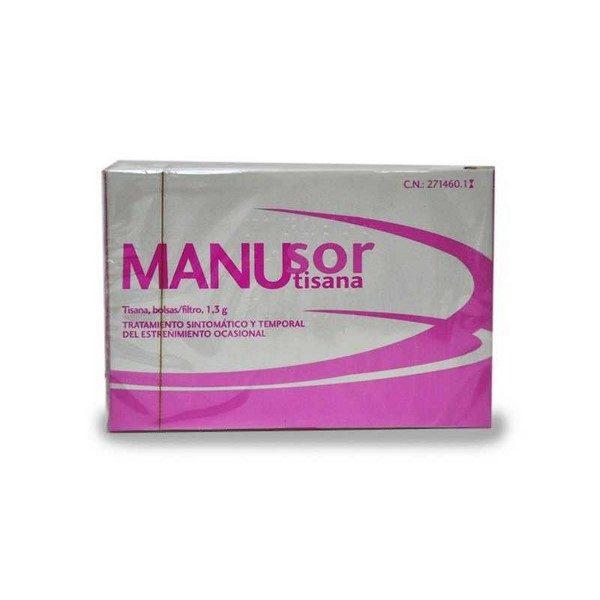 Comprar Homeosor Manusor Tisana 20 Filtros de 1