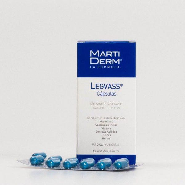 Comprar Martiderm Legvass Oral 60 Cápsulas