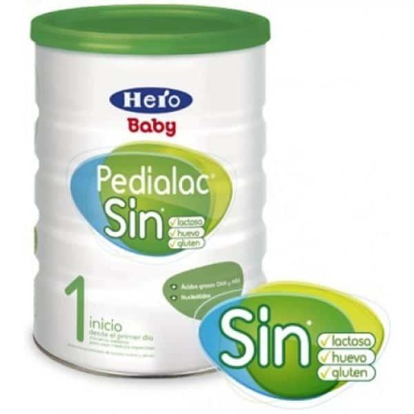Hero Baby Pedialac Sin 800 Gramos - Leche Sin Lactosa
