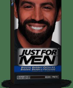 Comprar Just For Men Barba Bigote Patillas Negro 30 Ml