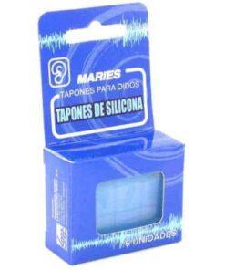 Tapones Oido Maries Silicona 6 Unidades