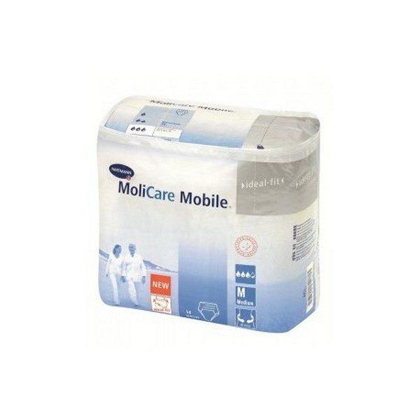 Comprar Molicare Mobile Ropa Interior Masculina Desechable para Pérdidas leves de Orina - Talla Mediana 14 Unidades Anatómica y Elástica