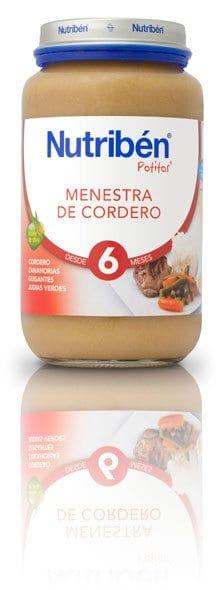 Nutribén Potito Grandote Menestra De Cordero 250 gr