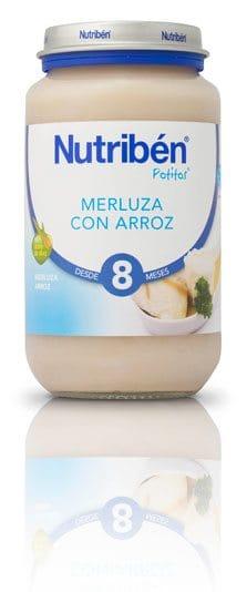 Nutribén Potito Grandote Merluza Con Arroz 250 gr