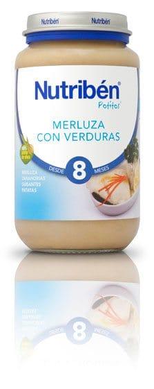Comprar Nutriben Grandote Merluza Verdura 250 Gr