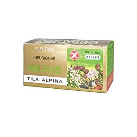 Comprar Milvus Tila Alpina 20 Filtros