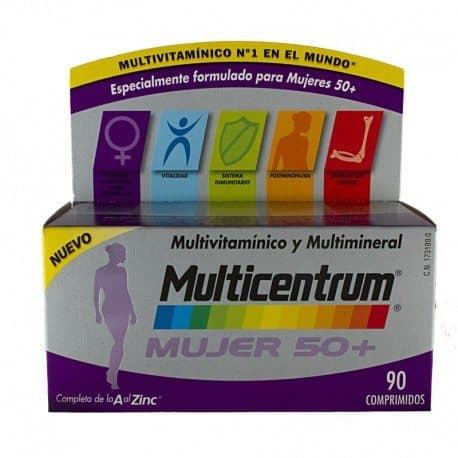 Comprar Multicentrum  Mujer 50+ 90 Comprimidos