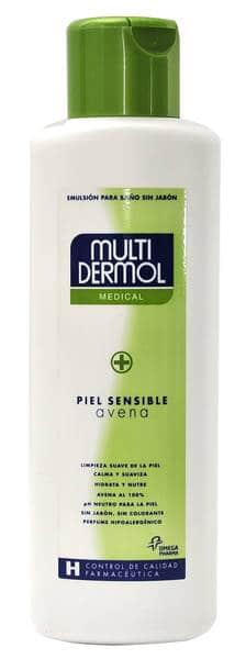Multidermol Avena Gel de Baño 750 ml