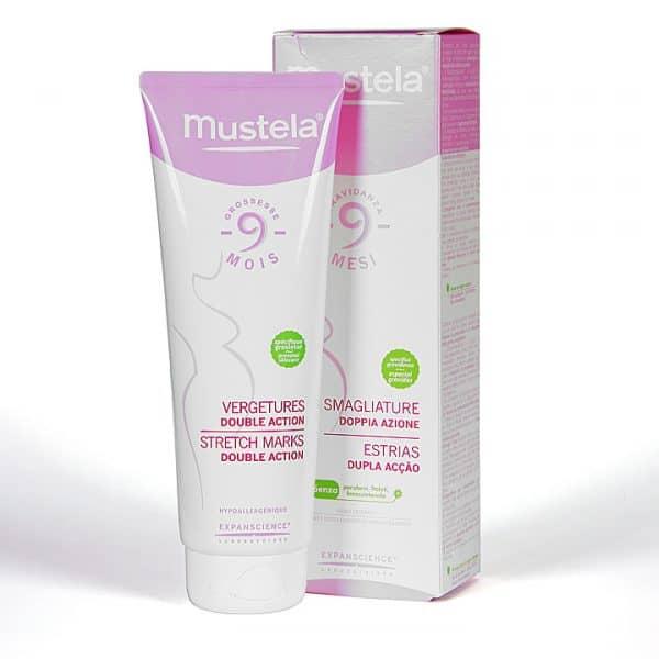 Comprar Mustela 9 Meses Antiestrías Doble Acción 250 ml