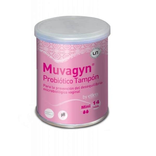 Muvagyn Probiótico Tampón 14 Unidades Mini