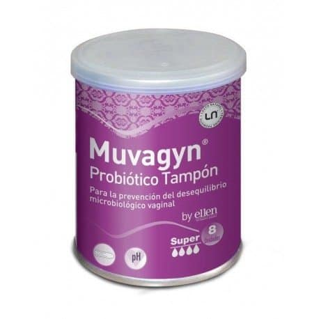 Muvagyn Probiótico Tampón 8 Unidades Super