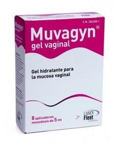 Comprar Muvagyn Gel Hidratante 8 Tubos Monodosis - Hidratación Mucosa Vaginal