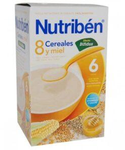 Nutribén 8 Cereales Y Miel Bífidus 300 Gr