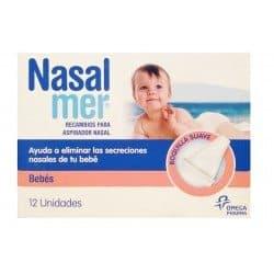 Nasalmer Aspirador Nasal Recambio 12 Boquillas