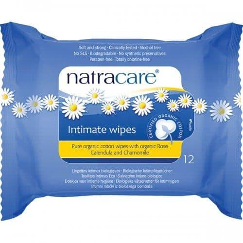 Comprar Toallitas Higiene Íntima Femenina Natracare 12 Unidades