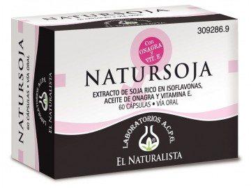 Comprar El Naturalista Natursoja 60 Cápsulas