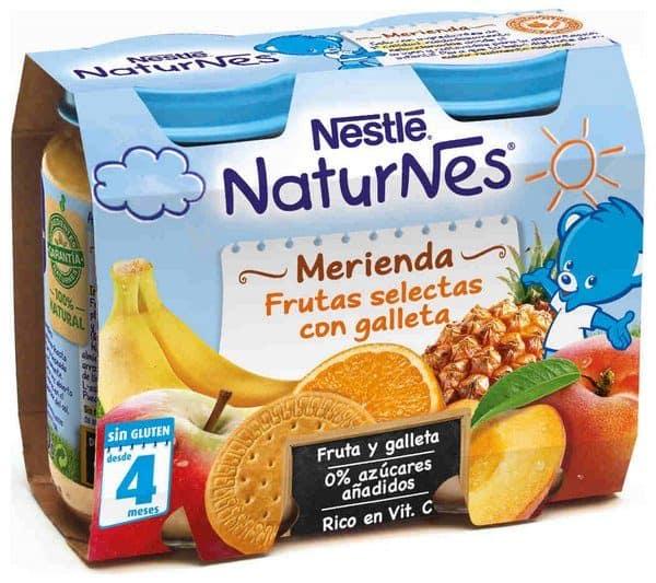 Comprar Nestlé Naturnes Merienda Frutas Selectas con Galleta