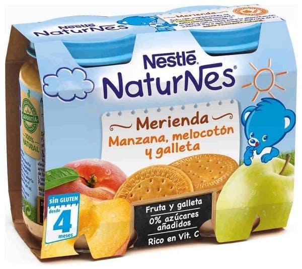 Comprar Nestlé Naturnes Merienda Manzana Melocotón y Galleta