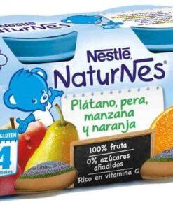Comprar Nestlé Naturnes Plátano Pera Manzana y Naranja