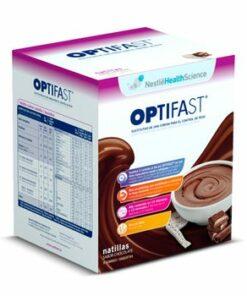 Optifast Natillas Sabor Chocolate - Sustitutivo Alimentico en una Dieta Hipocalórica