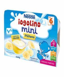 Iogolino Mini Plátano 6 Tarrinas 60 Gr
