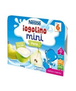 Comprar Iogolino Mini Pera 6 Tarrinas 60 Gramos Nestle - Aporte de Calcio