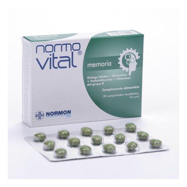 Comprar Normovital Memoria 30 Comprimidos