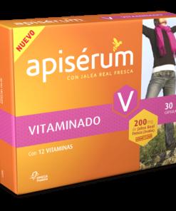 Apiserum Vitaminado 30 Cápsulas