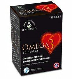 Comprar El Naturalista Omega 3 60 Perlas