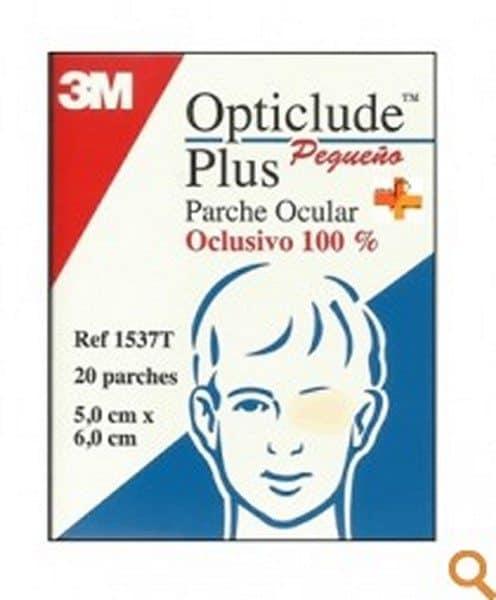 Opticlude Parche Ocular Plus Pequeño 20 Unidades