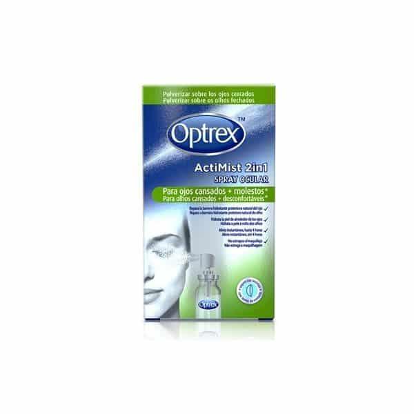 Comprar Optrex Actimist 2 en 1 Spray Ocular Ojos Cansados y Molestos 10 ml