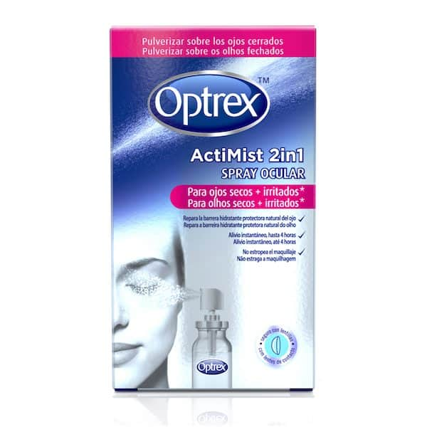 Comprar Optrex Actimist 2 en 1 Spray Ocular Ojos Secos e Irritados 10 ml