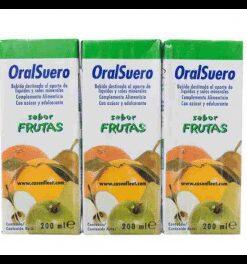 Comprar Oralsuero Sabor Frutas Brik 3x200 ml - Sales de Rehidratación con Probióticos