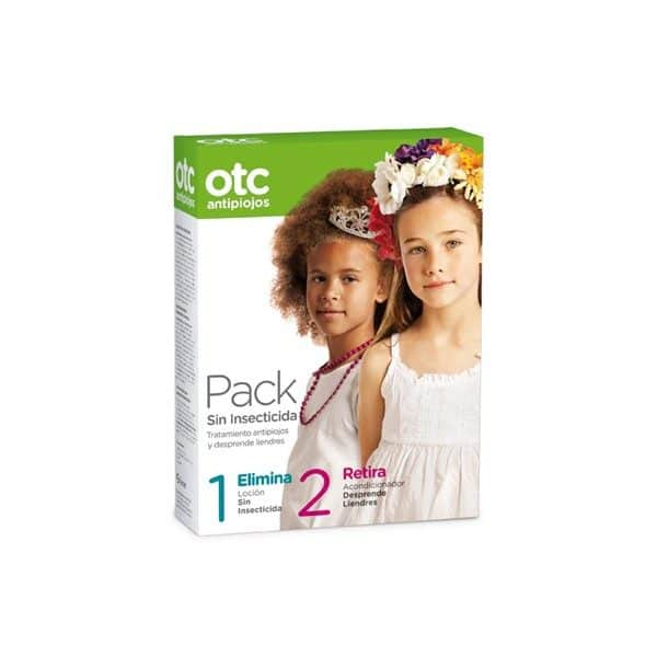 OTC Antipiojos sin Insecticida - Pack tratamiento antipiojos