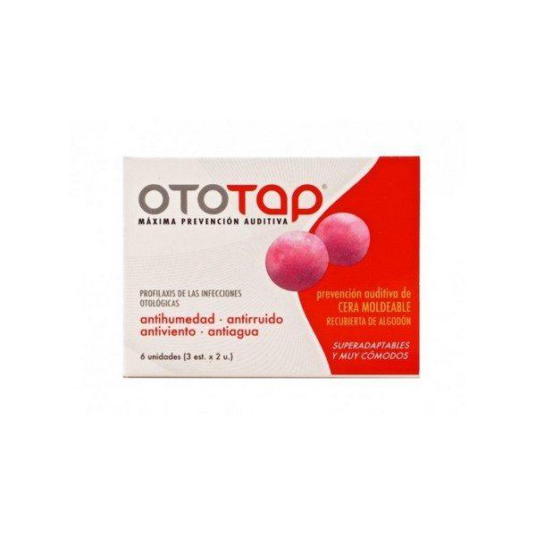 Comprar Tapones de Cera para Oídos Ototap 6 uds