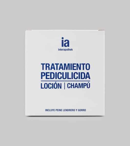 Pack Antipiojos de Interapothek Champú + Loción + Lendrera