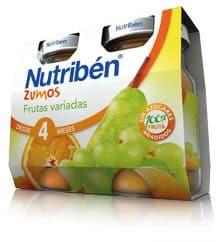 Nutribén Zumo Frutas Variadas 2 x 130 ml
